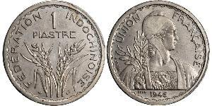 1 Piastre French Indochina (1887-1954) Copper/Nickel