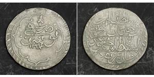 1 Piastre Imperio otomano (1299-1923) Plata