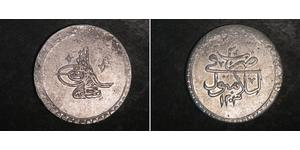 1 Piastre Osmanisches Reich (1299-1923) Silber Mustafa III. (1757 - 1774)