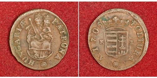 1 Poltura Венгрия Медь Ференц II Ракоци(1676 – 1735)