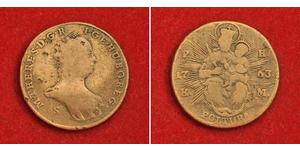 1 Poltura Королiвство Угорщина (1000-1918) Мідь Maria Theresa of Austria (1717 - 1780)