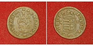 1 Poltura Угорщина Мідь Ференц II Ракоці(1676 – 1735)