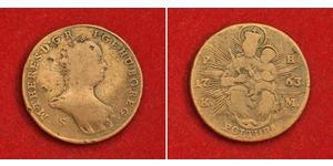 1 Poltura Reino de Hungría (1000-1918) Cobre Maria Theresa of Austria (1717 - 1780)