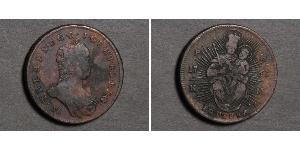 1 Poltura Königreich Ungarn (1000-1918) Kupfer Maria Theresa of Austria (1717 - 1780)