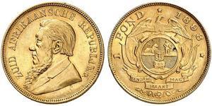 1 Pond South Africa 金 保罗·克留格尔 (1825 - 1904)