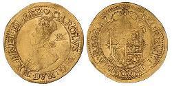 1 Pound Königreich England (927-1649,1660-1707) Gold Karl I (1600-1649)