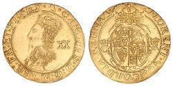 1 Pound Kingdom of England (927-1649,1660-1707) Gold Charles I (1600-1649)