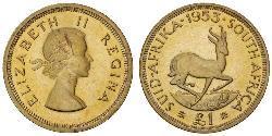 1 Pound Sudafrica Oro Elisabetta II (1926-)
