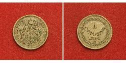 1 Quattrino Papal States (752-1870) Copper