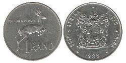 1 Rand South Africa 镍