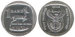 1 Rand South Africa Copper/Nickel