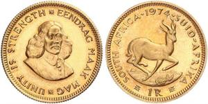 1 Rand South Africa Gold