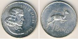 1 Rand Sudáfrica Plata