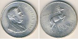 1 Rand Südafrika Silber