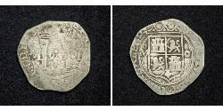 1 Real Spagna / Vicereame della Nuova Spagna (1519 - 1821) Argento Ferdinando VII di Spagna (1784-1833)