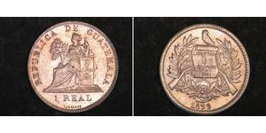 1 Real Guatemala (1838 - ) Nickel