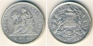 1 Real Guatemala Silver