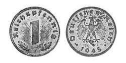 1 Reichpfennig Deutsches Reich (1933-1945) Zink