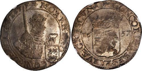 1 Rijksdaalder Republik der Sieben Vereinigten Provinzen (1581 - 1795) Silber