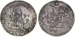 1 Rijksdaalder Kingdom of the Netherlands (1815 - ) Silver Maximilian II, Holy Roman Emperor (1527- 1576)