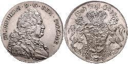 1 Riksdaler 瑞典 銀 弗雷德里克一世 (瑞典) (1676 -1751)