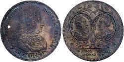 1 Riksdaler Schweden Silber Friedrich (Schweden) (1676 - 1751)