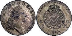 1 Riksdaler Schweden Silber Gustav III. (Schweden) (1746 - 1792)
