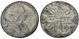 1 Rubel Russisches Reich (1720-1917) Silber Peter II (1715-1730)