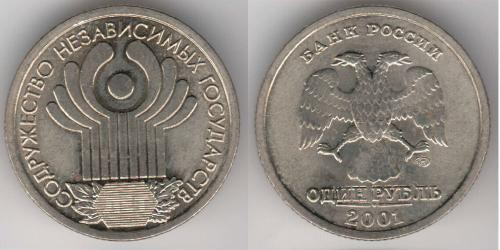 1 Ruble Russian Federation (1991 - )