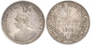 1 Rupee German East Africa (1885-1919) 銀