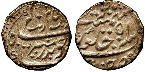 1 Rupee Compagnia Inglese delle Indie Orientali (1757-1858) / India Argento