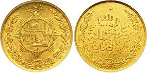 1 Rupee Emirate of Afghanistan (1823 - 1926) Gold