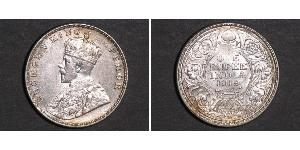 1 Rupee British Raj (1858-1947) Silver George V of the United Kingdom (1865-1936)
