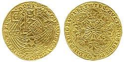 1 Ryal Kingdom of England (927-1649,1660-1707) Gold Edward IV (1442-1483)