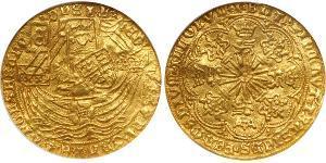 1 Ryal Kingdom of England (927-1649,1660-1707) Gold Edward IV (1442-1483)