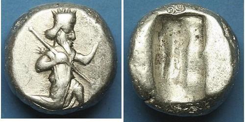 1 SIGLOS 阿契美尼德王朝 (550 BC - 330 BC) / Persia 銀