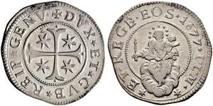 1 Scudo Italian city-states 銀