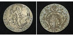 1 Scudo Estados Pontificios (752-1870) Plata