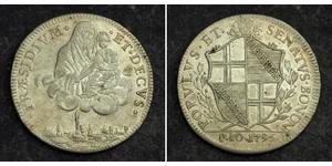 1 Scudo Kirchenstaat (752-1870) Silber