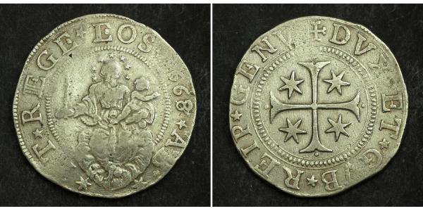 1 Scudo Italian city-states Silver
