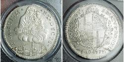 1 Scudo Papal States (752-1870) Silver