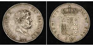 1 Scudo / 120 Grana Italian city-states Plata