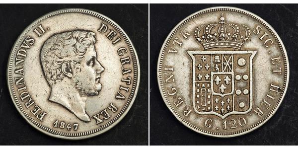 1 Scudo / 120 Grana Italian city-states Silver
