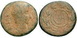 1 Semissis Roman Empire (27BC-395) Bronze Augustus (63BC- 14)