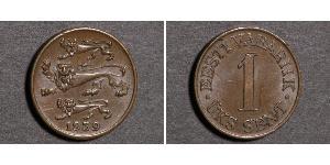 1 Sent Estonia (Republic) 青铜