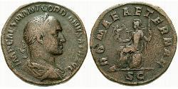 1 Sestertius Roman Empire (27BC-395) Orichalcum Gordian II (192-238)