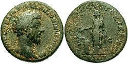 1 Sesterz Römische Kaiserzeit (27BC-395) Bronze Mark Aurel (121-180)