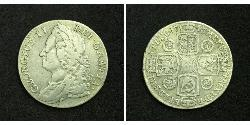 1 Shilling 大英帝国 銀 乔治二世 (大不列颠) (1683 - 1760)