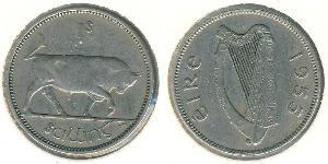 1 Shilling 爱尔兰共和国 銀