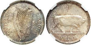 1 Shilling Irlande (1922 - ) Argent